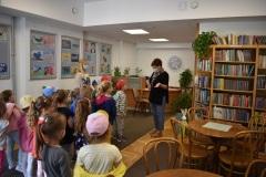 Odwiedziny przedszkolaków w Bibliotece!