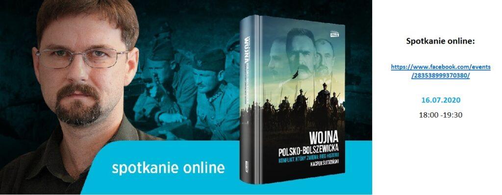 Spotkanie online: Kacper Śledziński